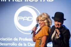 III Premios PAD con Pam y Brad